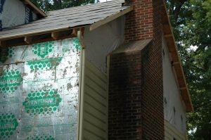 exterior storm damage