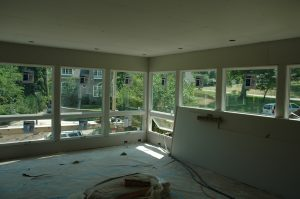 sunroom remodeling process 2