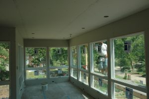sunroom remodeling process