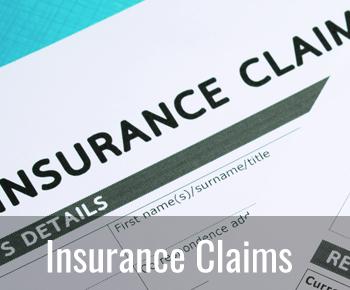 Insurance claim restoration icon