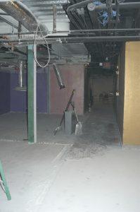 before renovation hallway
