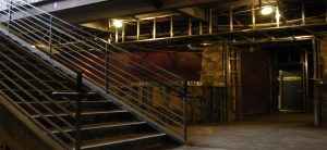 business stairwell renovation process