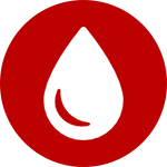 water damage repair icon